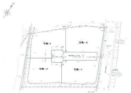 【内郷御台境町売土地 閑静な住宅地 4区画】