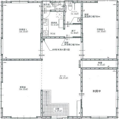 【築浅☆小名浜相子島貸事務所 月額賃料275,000円(税込)】