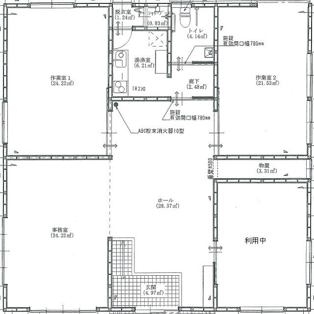 【築浅☆小名浜相子島貸事務所 賃料25万円+税】