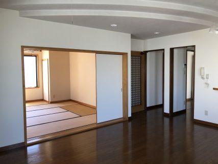 【平字紺屋町 丸仙ビル2階 賃貸アパート3SLDK】